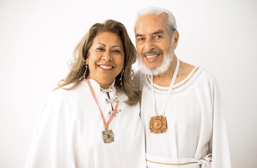 Maestro Domingo Dias Porta and Maria Guadalupe Abundis De Dias (Lupita)