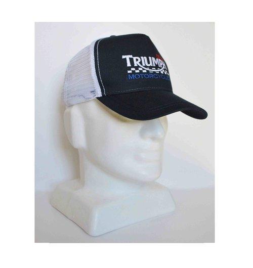 Triumph Trucker style cap — Iron   Oil 600b1618e78