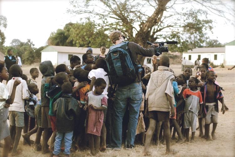 Matt Forrey in Malawi, Africa.