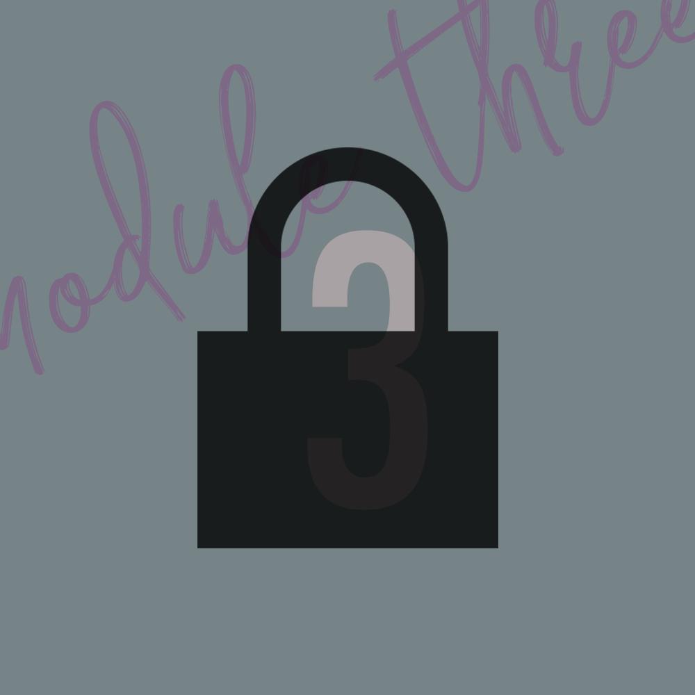 Module 3 - OverviewLesson 1Lesson 2Lesson 3