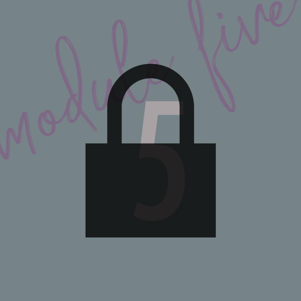 Module 5 - OverviewLesson 1Lesson 2Lesson 3