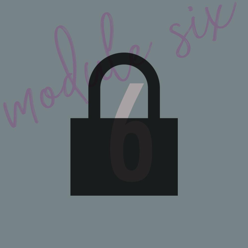 Module 6 - OverviewLesson 1Lesson 2Lesson 3