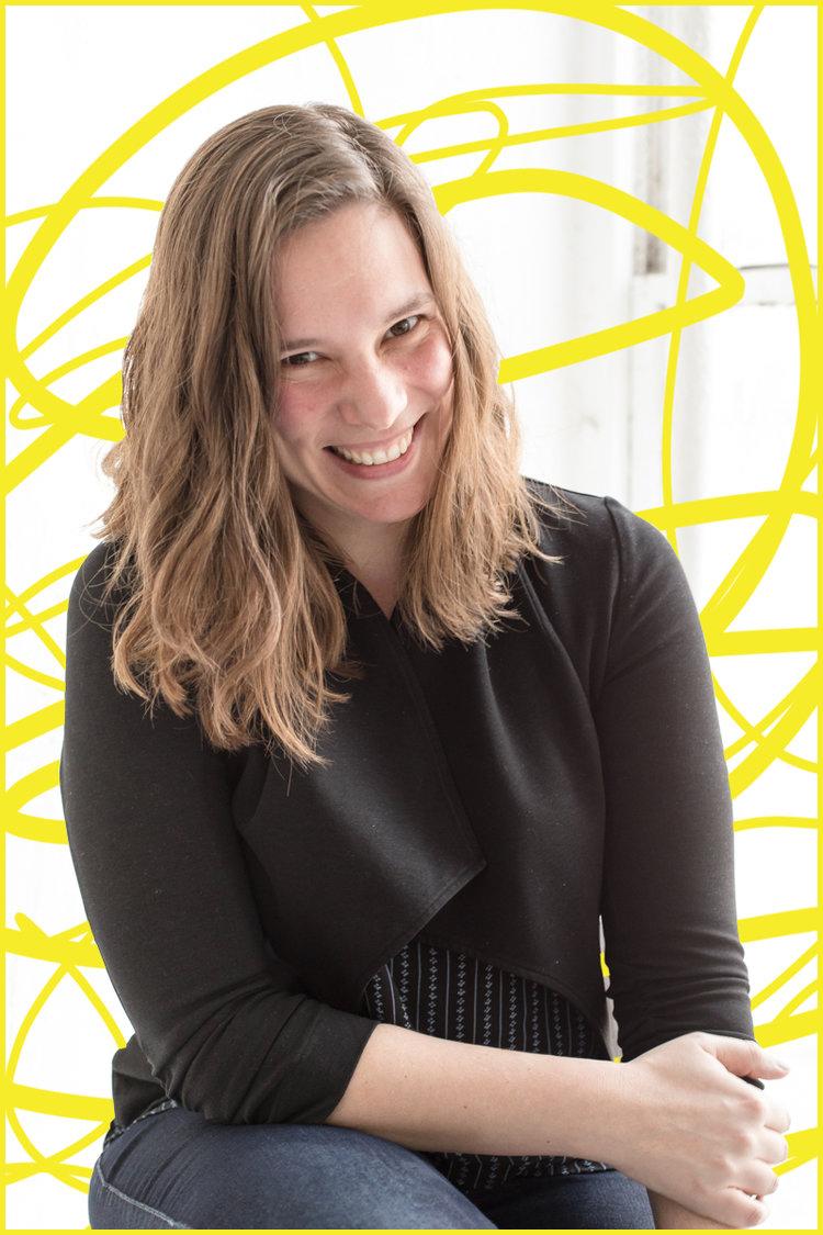 playwright Mathilde Dratwa