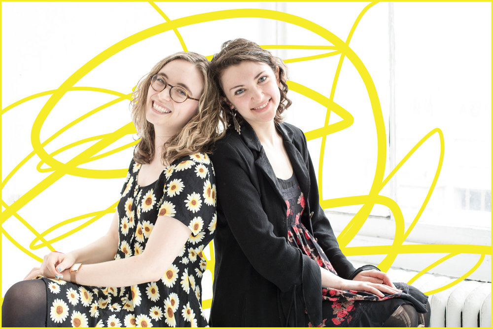 playwright Anya Richkind and director Allison Benko