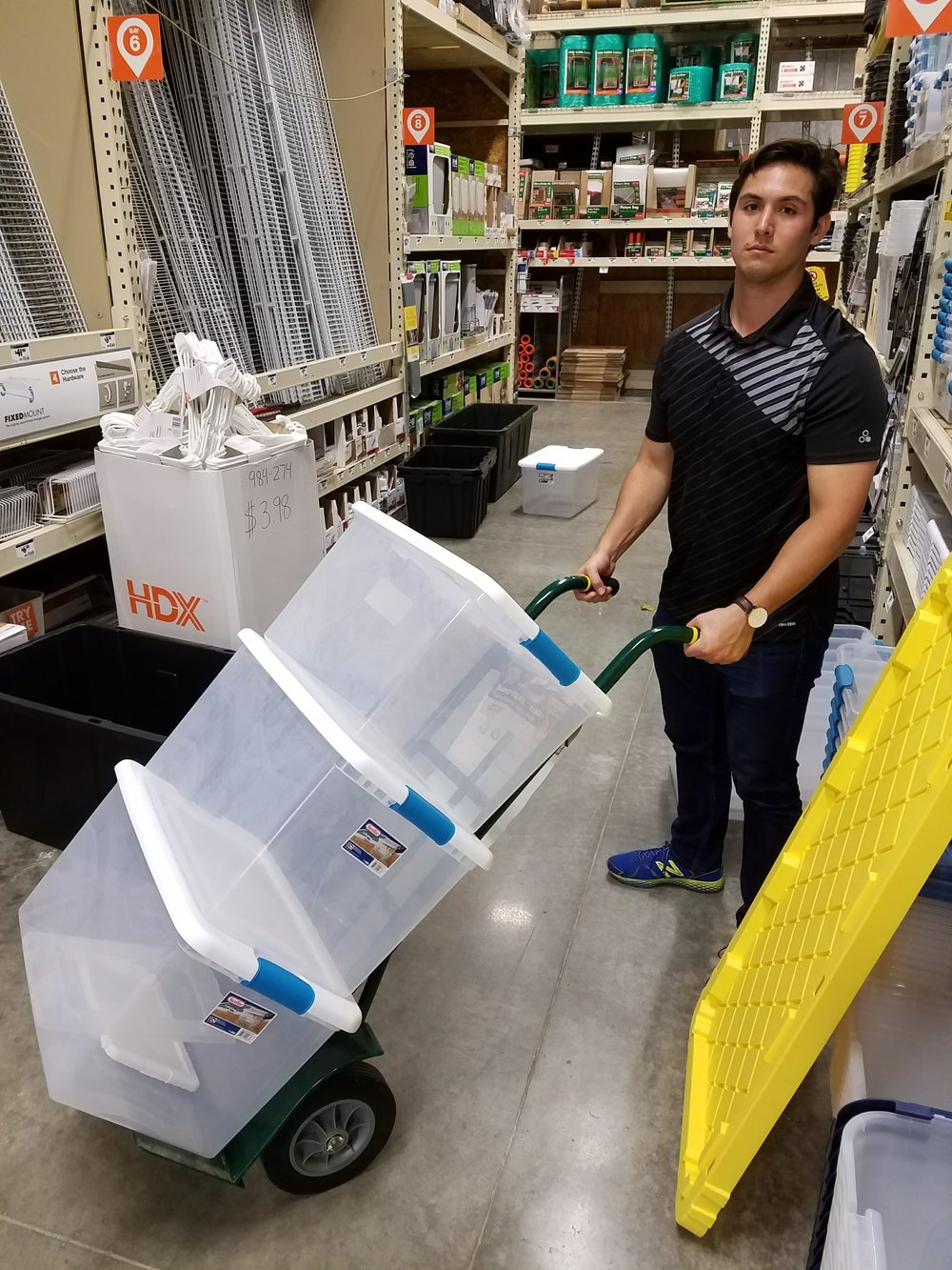 Jordo testing new efficiency ideas