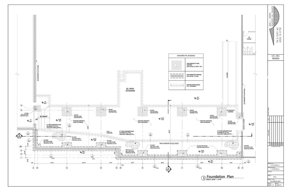 ... Cold Storage Construction__foundation Plan ...