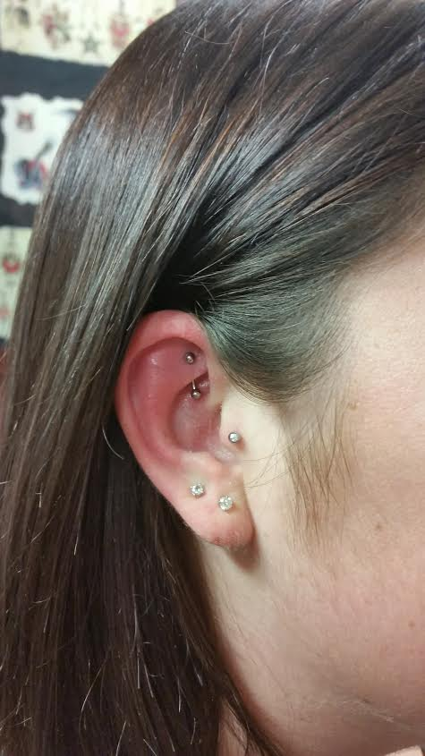 Fresh Rook, Healed Tragus