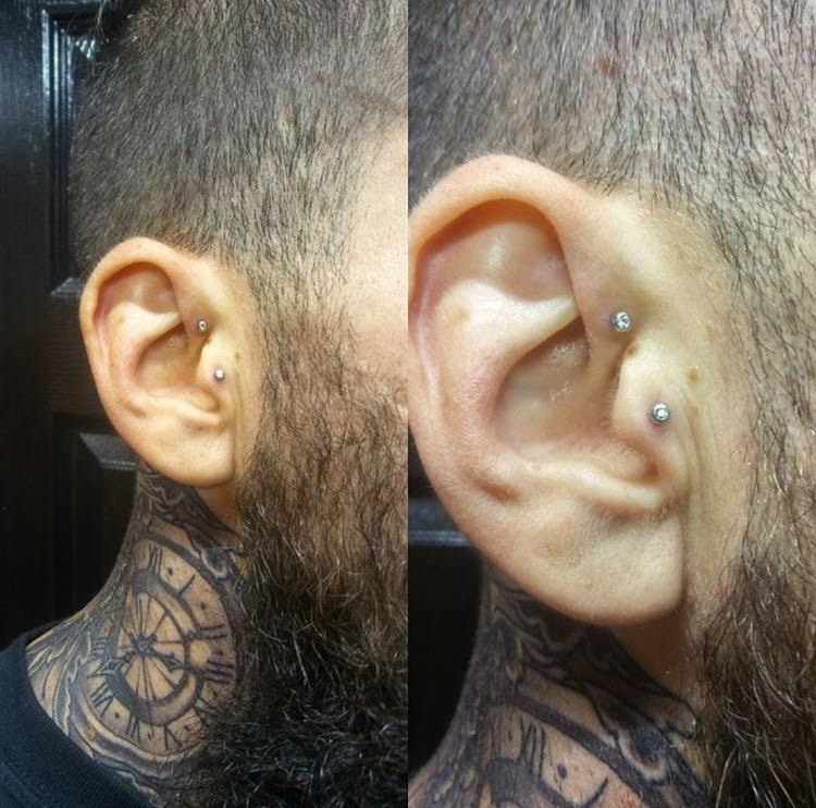 Forward Helix & Tragus
