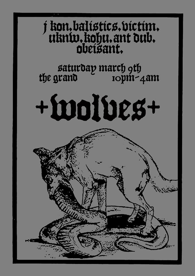 Wolves: Saturday 9 March, The Grand, Wellington