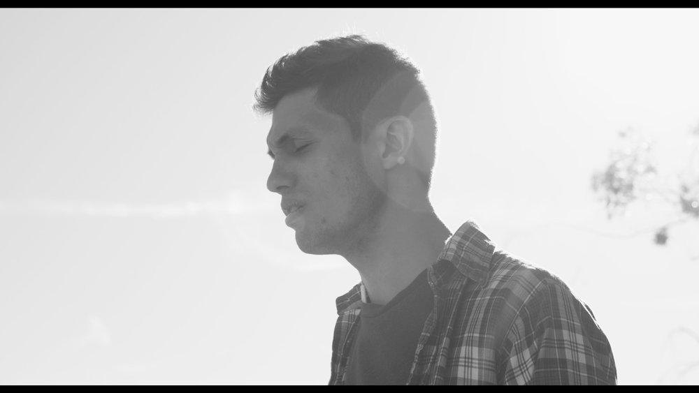 Frame from yesterday's film shoot with Steve