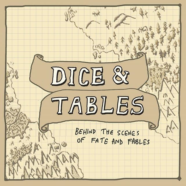Hear those dice rolls! Smell the waxen candles! It's DICE & TABLES, A behind the scenes podcast! Now on Patreon! #dungeonsandragons #podcast #npc #d&d