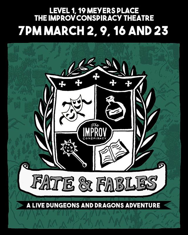 MELBOURNE LIVE SHOW!!! One hour one shots with all your favourite characters from the show!! Tickets are 10$, link in bio!!! #dungeonsandragons #podcast #liveshow #dnd #fantasy #rpg