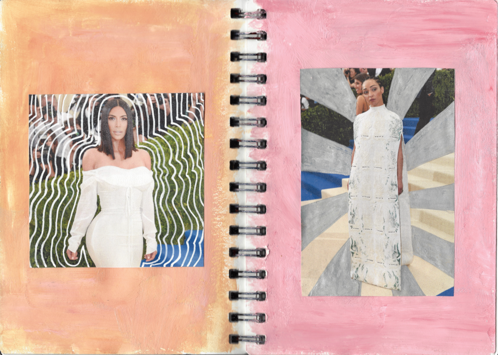 Kim Kardashian West wears Vivienne Westwood, Ruth Negga wears Valentino