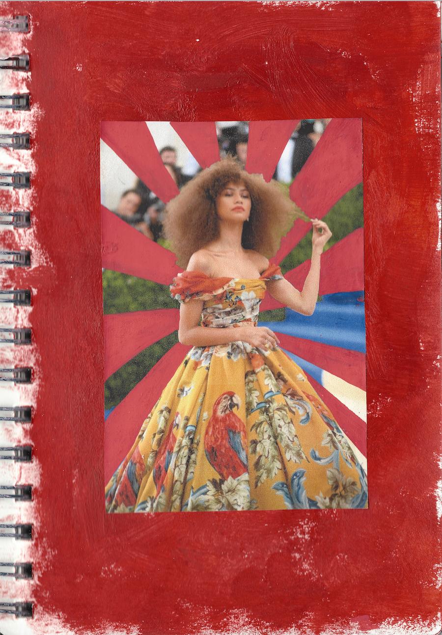 Zendaya wears Dolce & Gabbana