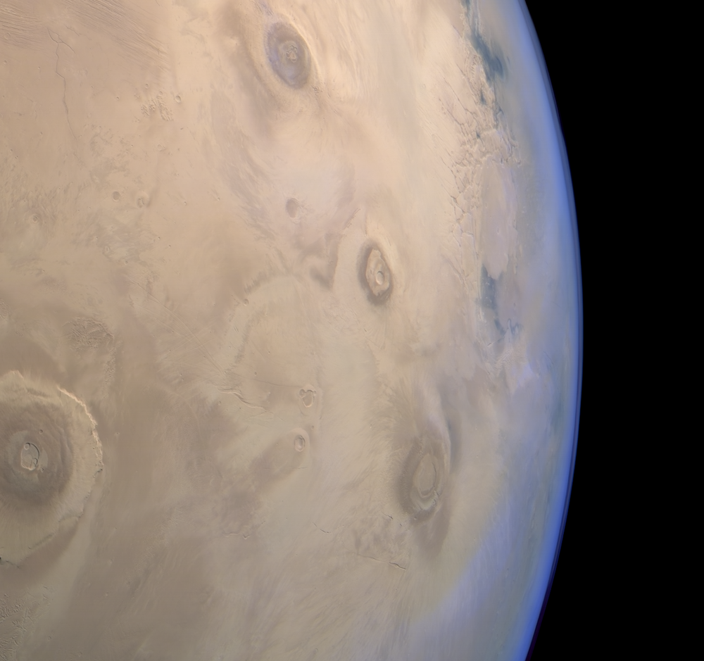 HRSC image of Mars