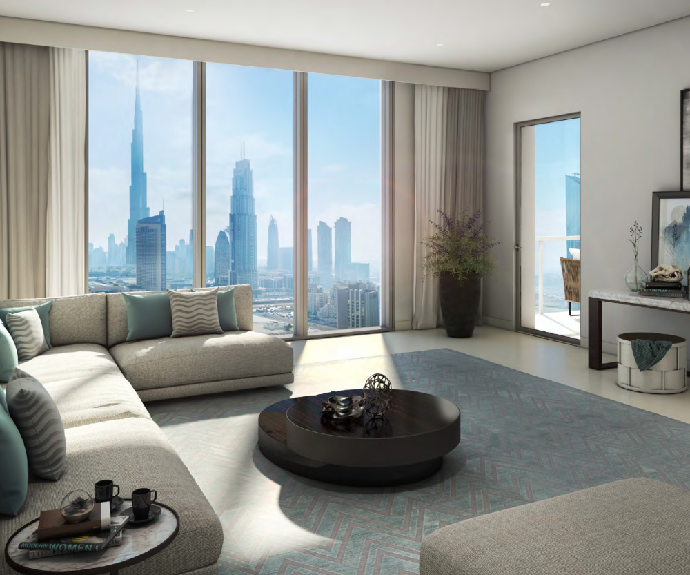 Downtown Views 2 - These luxury apartments overlook the Burj Khalifa and Opera district just beyond the dancing Dubai fountain, it is connected to Dubai Mall. . .