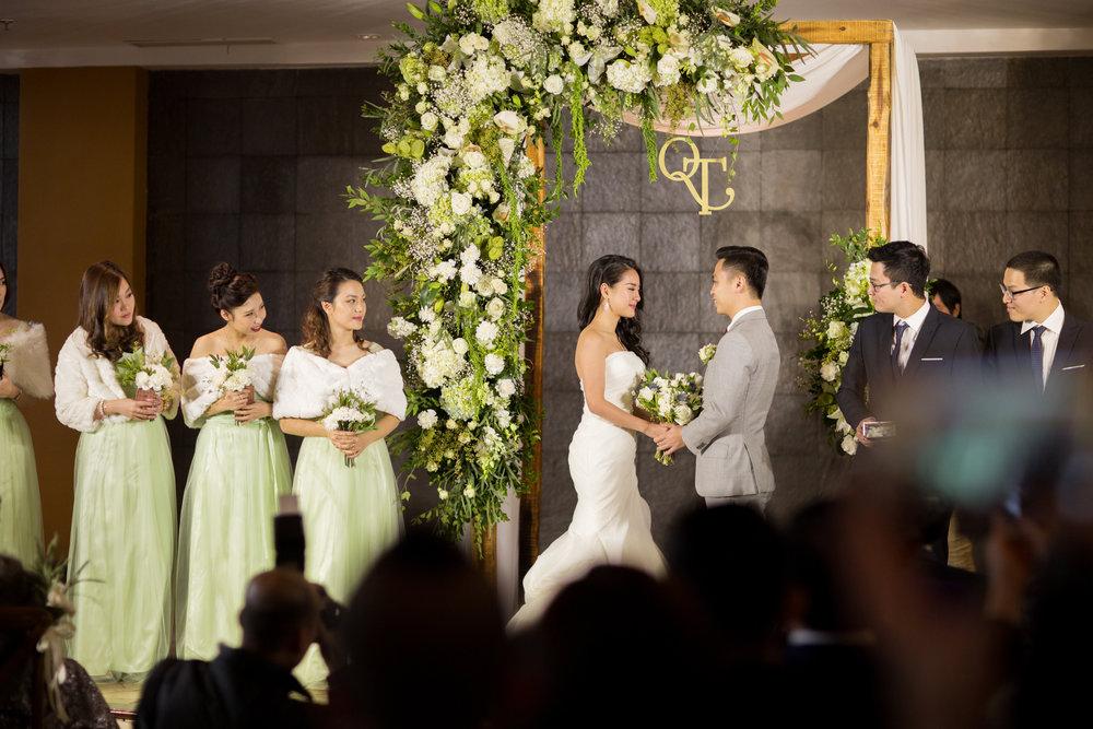 TRANG & QUOC WEDDING - Indoor garden