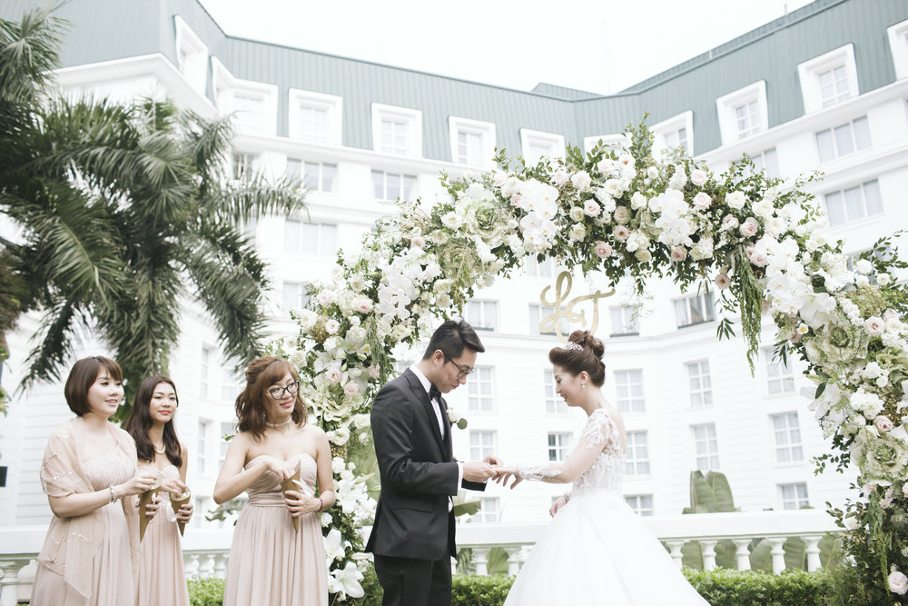 LY & TRUNG WEDDING - The Indochine Spring