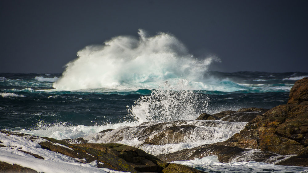 "The stormy Sea   ""Dance with waves, move with the sea. Let the rythm of the water set your soul free."" Christy Ann Martine"