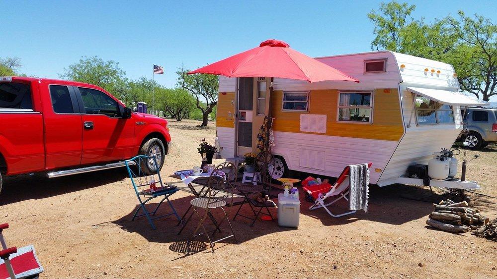 La Siesta Campgrounds Vintage Travel Trailer Park & Rentals - 16005 W Hardscrabble RdArivaca, ArizonaCall (520) 398-3132Website