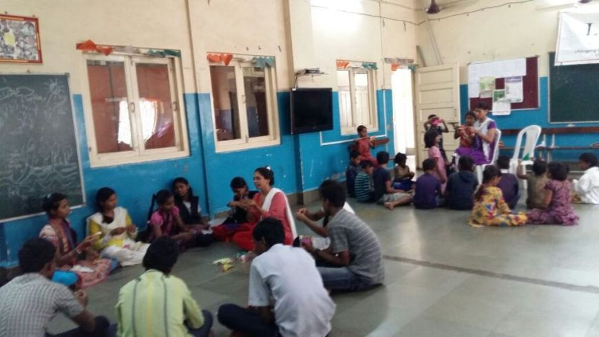 Operational Support - We conduct visits to more than 70 anganwadis a day, covering over 14,000 centres yearly to implement monitoring systems, build feedback from sevikas (teachers) and maditinis (teacher assistants) and identify new methods of operation, working closely with the local government in Mumbai to improve the overall frameworks of anganwadis.