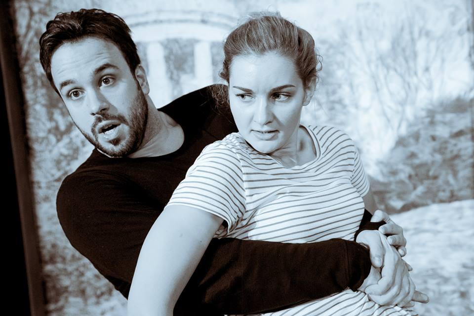 Rehearsal Picture Le Nozze di figaro. Figaro (Nikos Kotenidis) & Cherubino