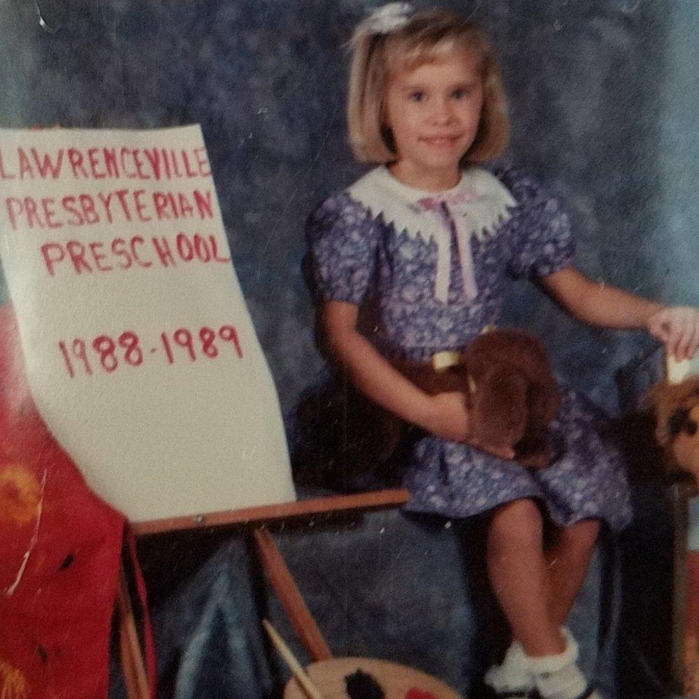 Cupcake even made it into my Kindergarten school photo!