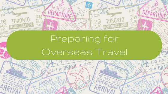 Overseas Travel - Sweet Tea and Sunshine