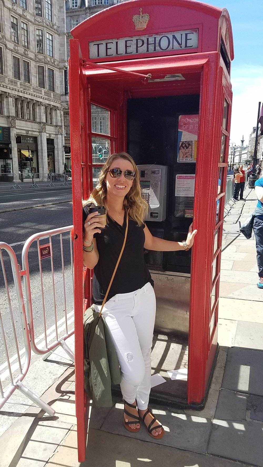 London Phone Booth 2017