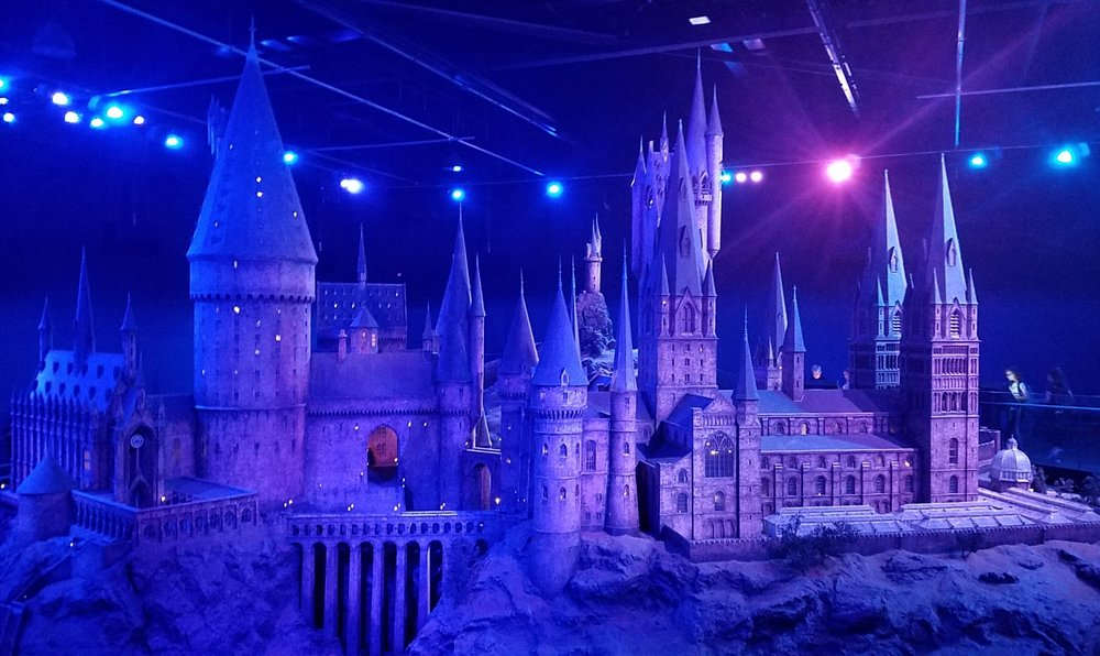 Scale model of Hogwarts
