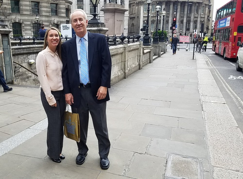 After Bank of London tour