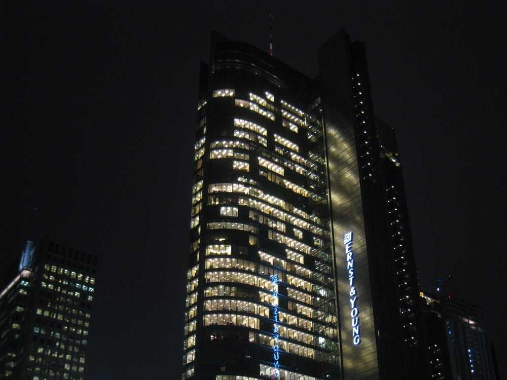 The Ernst & Young offices in Warsaw, Poland