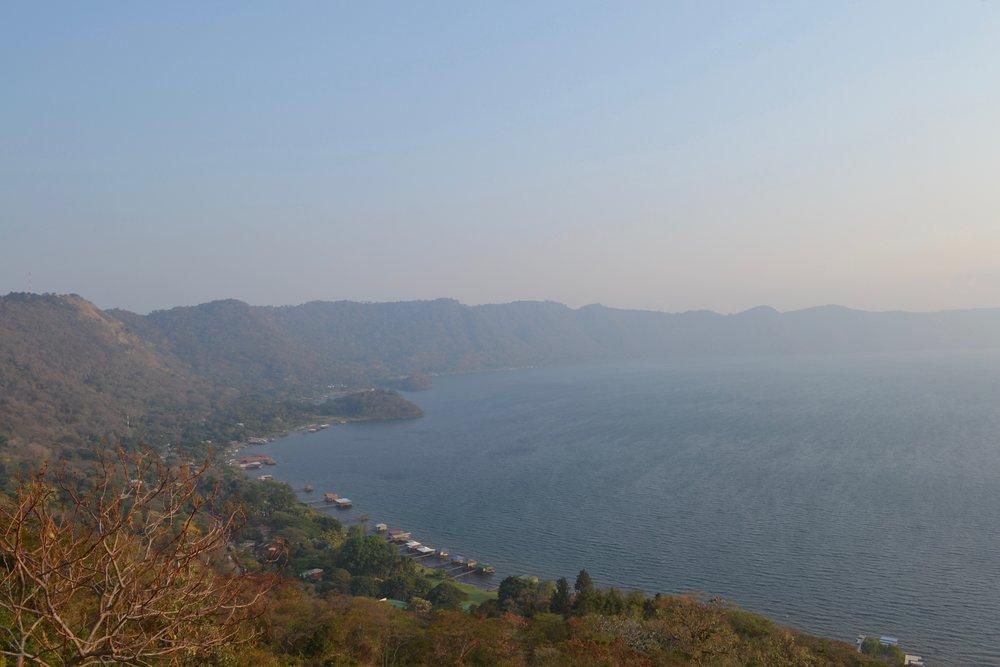 Lake Coatepeque in northwestern El Salvador