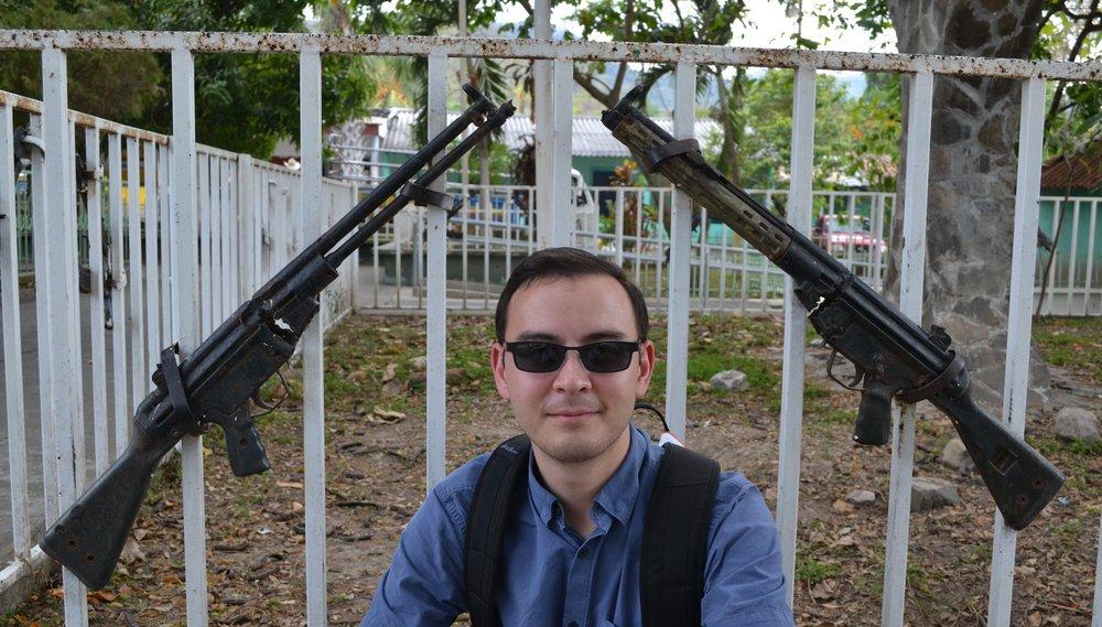Guns from the Salvadoran Civil War 1980-1992