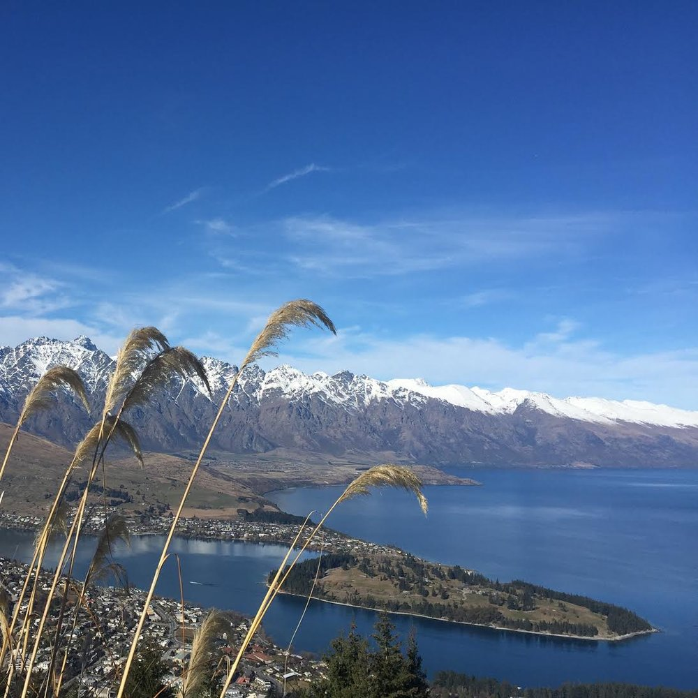 Queenstown in midwinter (Photo Credit: Caitlin Rovner)