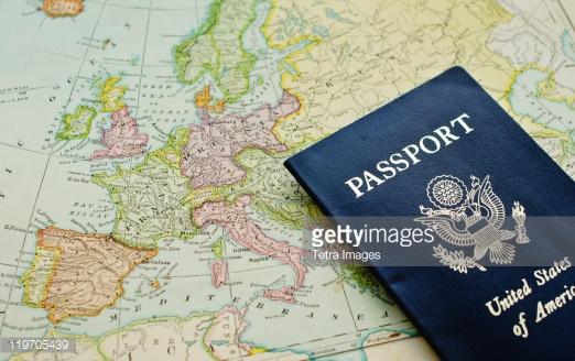 US Passport and Europe