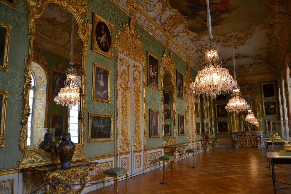The Green Gallery in the Munich Residenz
