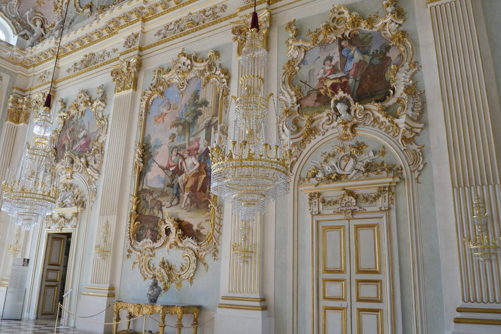The Great Hall of Nymphenburg Palace