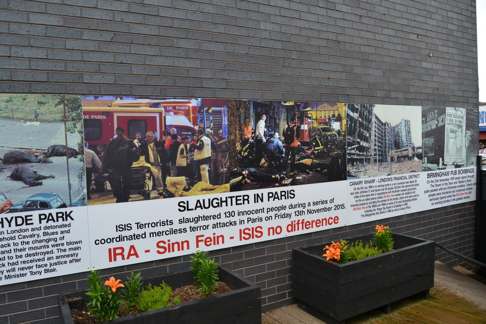 Northern Ireland Protestant Memorial Posters