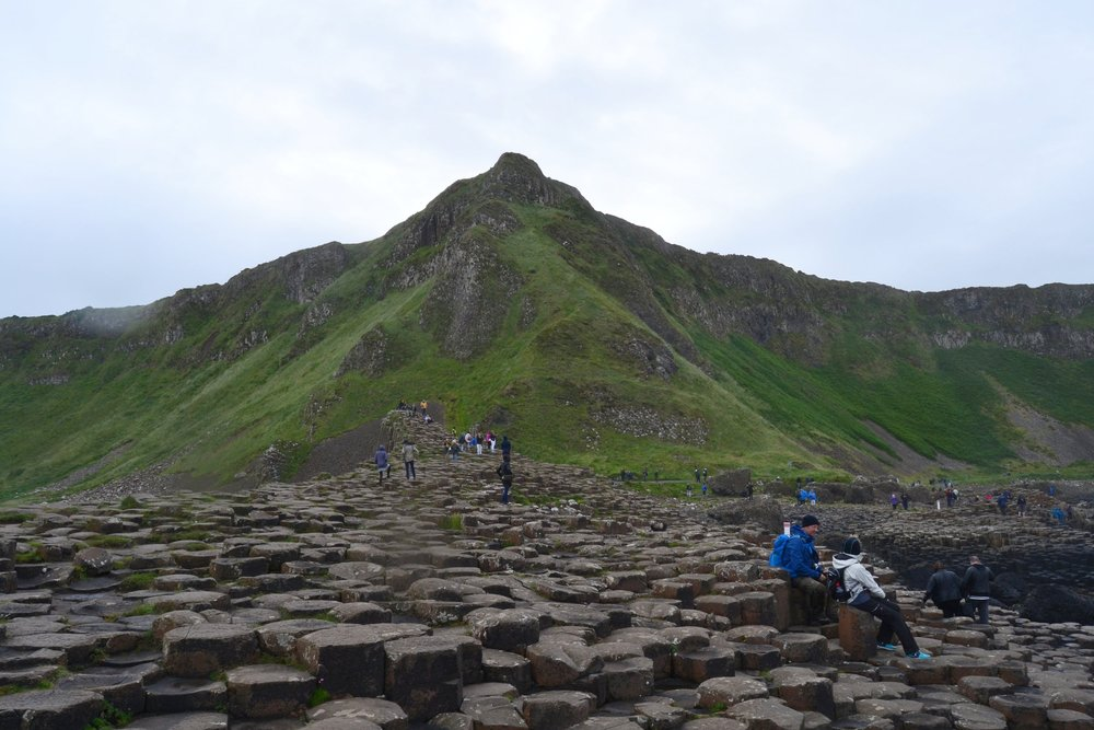 Giant's Causeway in Northern Ireland in County Antrim