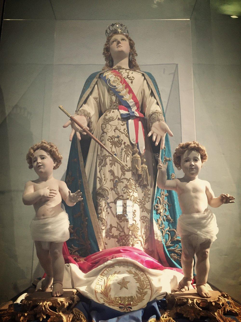 Virgen de la Asuncion (Virgin of Asuncion) in La Casa de Independencia