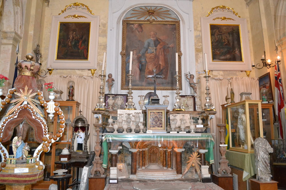 The St. Lawrence Church Museum in Vittoriosa (Birgu)