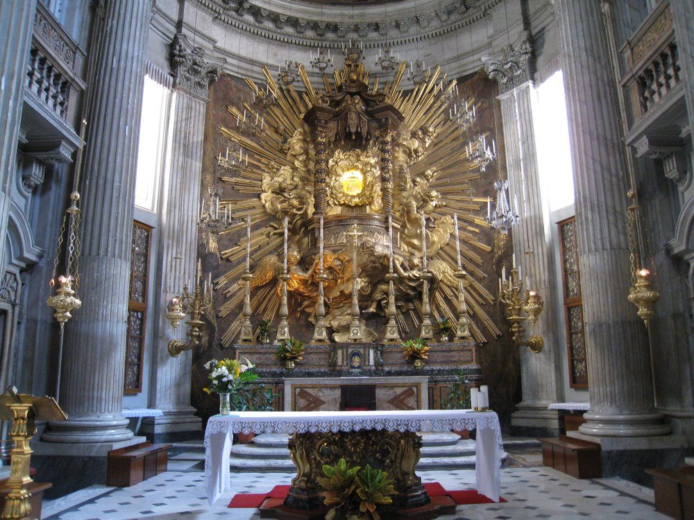 The High Altar of S. Maria in Campitelli