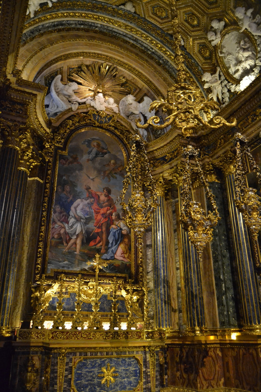 Gilded Side Chapel in Sao Roque