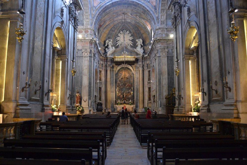Basilica of Estrela Interior