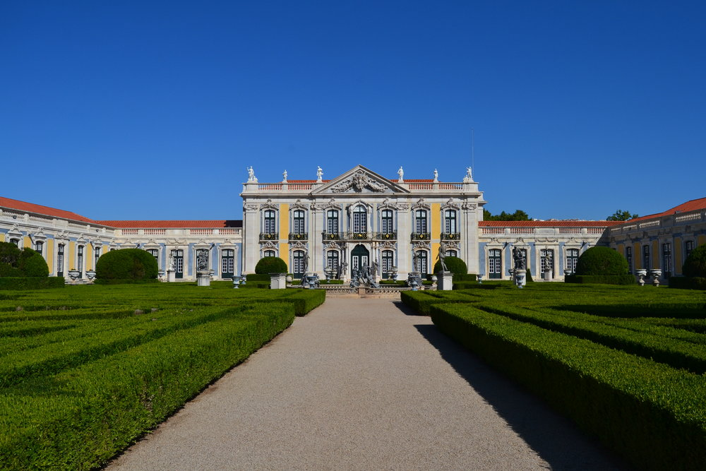 View of Queluz Palace