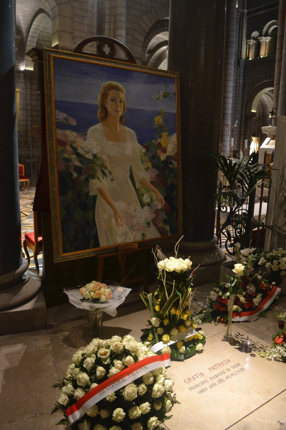 The Grave of Grace Kelly