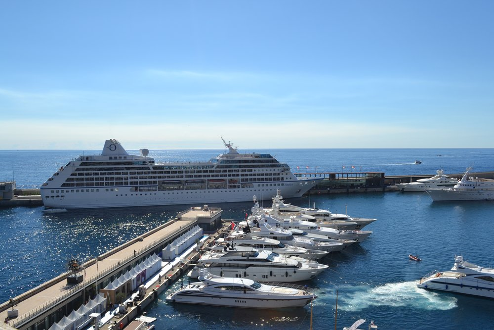 A Short Visit To Monaco - Cruise ships in monaco today