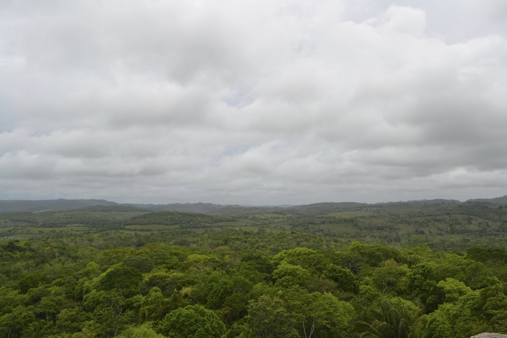 A cloudy day in Belize