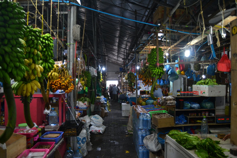 The Local Fruit and Vegetable Market